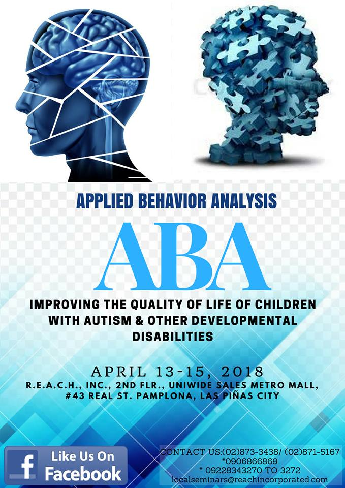 Applied Behavior Analysis Improving The Quality Of Life Of Children With Autism Other Developmental Disabilities