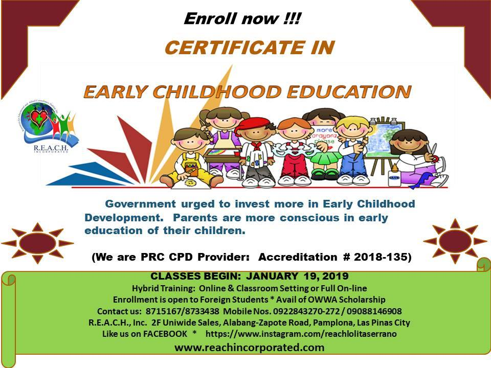 News And Events Reach Incorporated Sped Short Courses Philippines